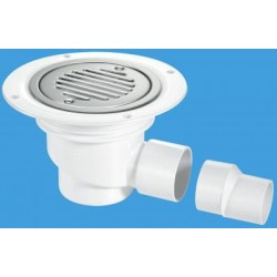 McAlpine Horizontal Shower Gully 75mm Seal TSG1SS-SL-SC