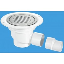 McAlpine Horizontal Shower Gully 75mm Seal TSG1SS-SL-NSC