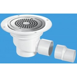 McAlpine Horizontal Shower Gully 75mm Seal TSG1-ANTI/LIG
