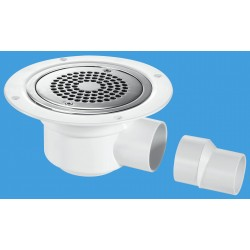 McAlpine Horizontal Shower Gully 50mm Seal TSG50-ANTI/LIG