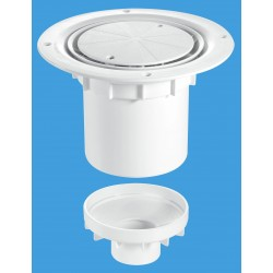 McAlpine 75mm Water Seal Gully with Vertical Outlet TSG2WH