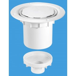 McAlpine 75mm Water Seal Gully with Vertical Outlet TSG2WH-NSC
