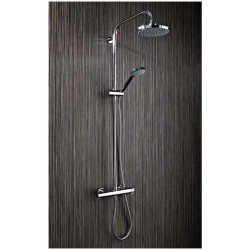 Radiant Twin Head Bar Shower