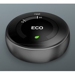 Nest Learning Thermostat 3rd Gen Black T3029EX