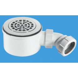 McAlpine 90mm Shallow Shower Trap ST90CPB-P-70