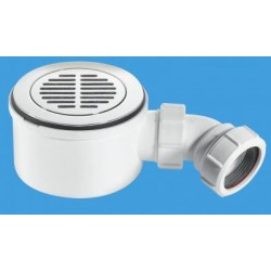 McAlpine 90mm Shallow Shower Trap ST90CPB-S-70