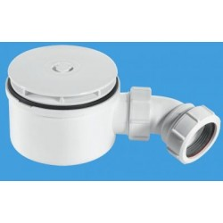 McAlpine 90mm Shallow Shower Trap ST90WH10-70