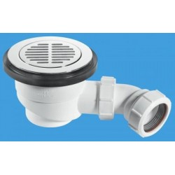 McAlpine 90mm Shower Trap ST90CPB-S