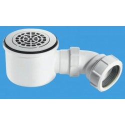 "McAlpine 2"" 90mm Hi-Flow Shower Trap ST90CPB-P-HP"