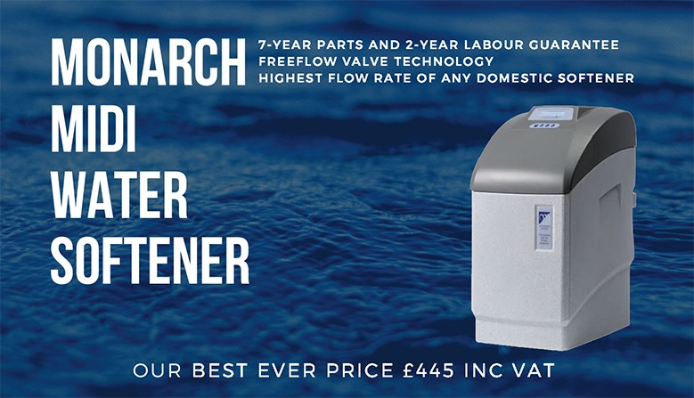 Monarch Midi Water Softener Promotion
